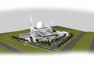 Ilustrusi Arkitek: Masjid Bandar Saujana Putra