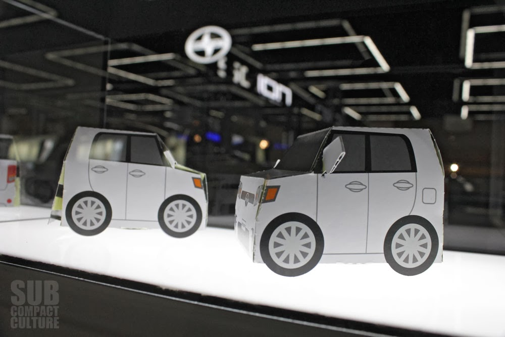 Folding Paper Scion xB