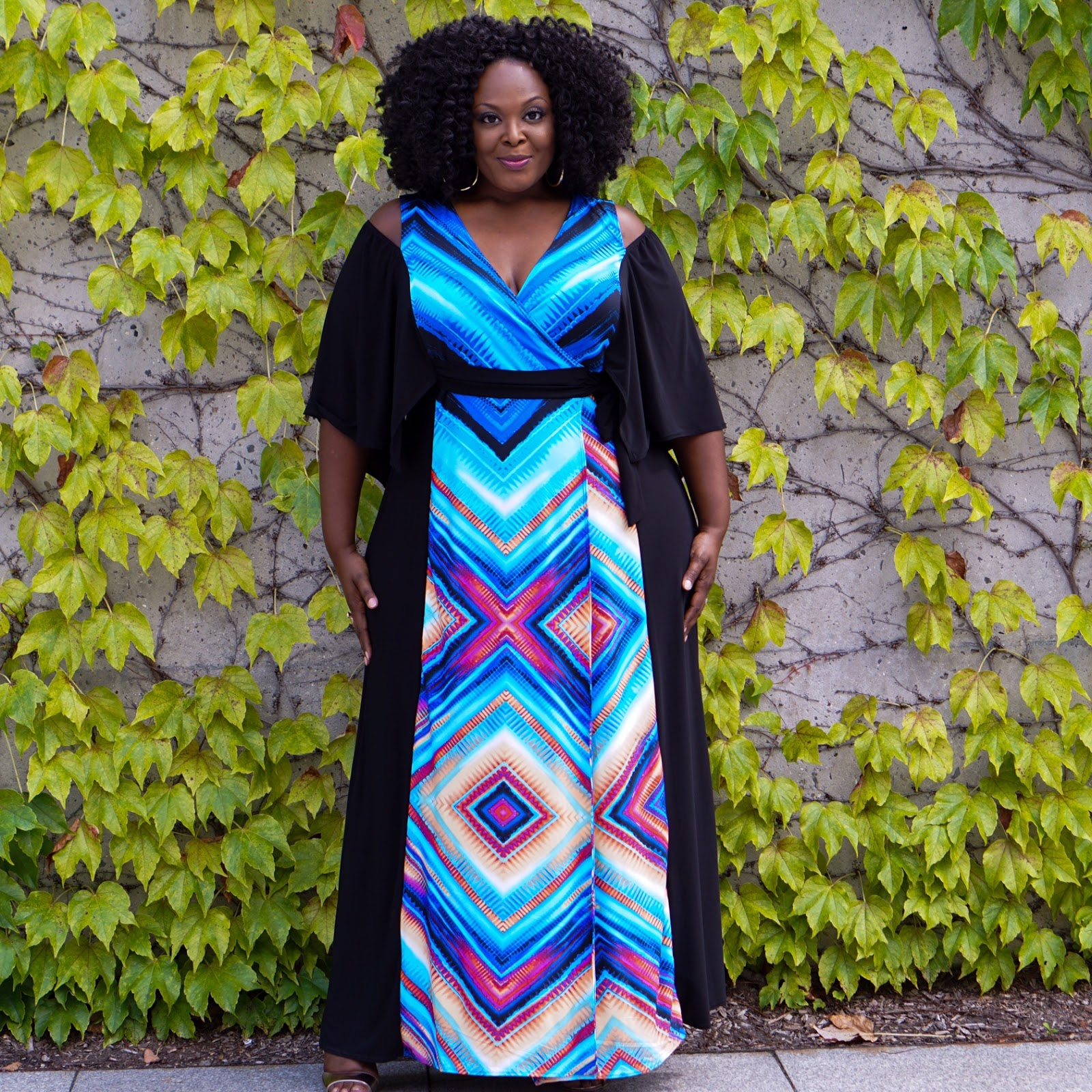Big Bella Donna Kiyonna Serene Dress