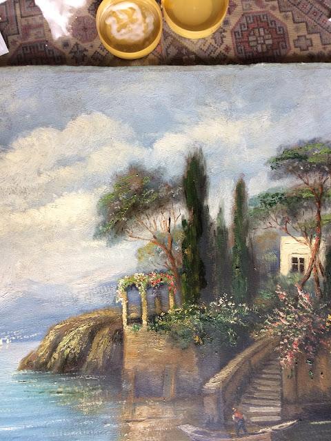 festmény tisztítás