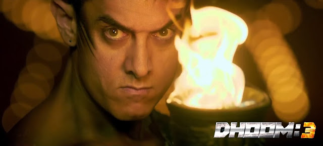 Angry look of Aamir Khan in Dhoom 3 movie still