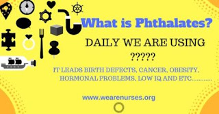 Phthalates,human health effects,after eat out,nurse,nursing,wearenurses proudtobe a nursing,