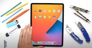 iPad Pro 12.9 2021 (M1) Lolos Uji Gores, Panas dan Tekuk oleh JRE