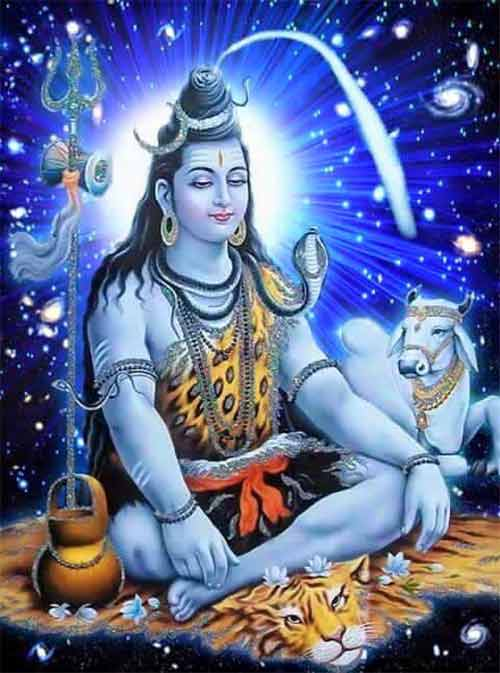 Reason For Blue Colour Skin of Shiva