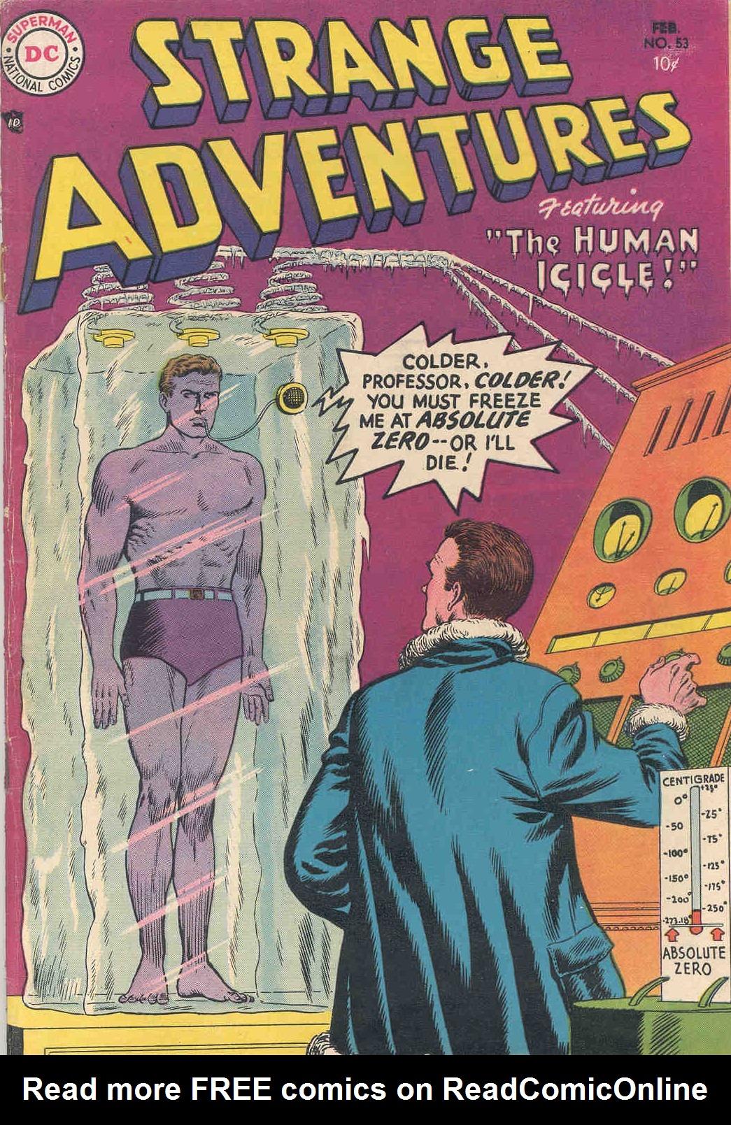 Strange Adventures (1950) issue 53 - Page 1