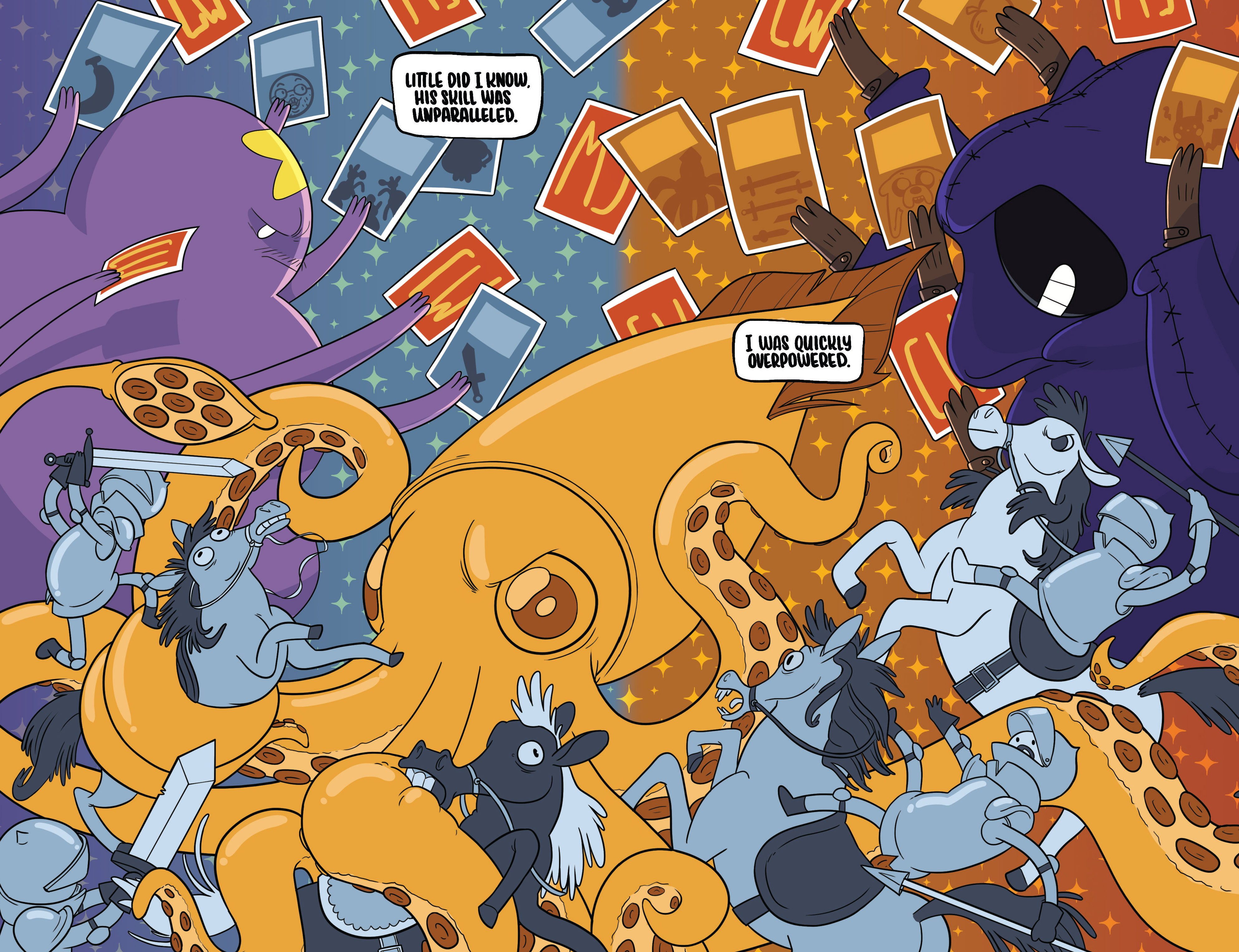 Read online Adventure Time Fionna and Cake Card Wars comic -  Issue #2 - 6