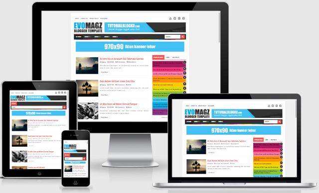 Evo Magz Magazine Responsive Blogger Templates