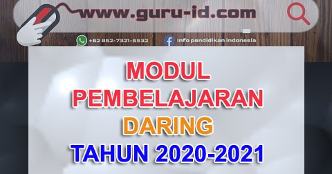 Kumpulan Modul Bdr Kelas 1 2 3 4 5 6 Tahun 2020 2021 Info Pendidikan Terbaru