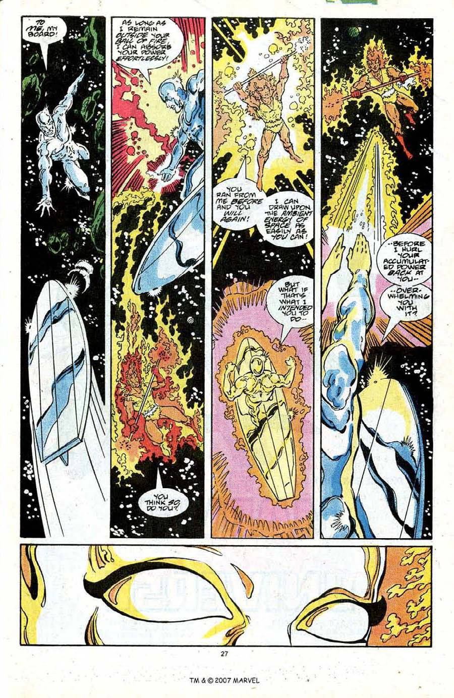 Read online Silver Surfer (1987) comic -  Issue #19 - 29