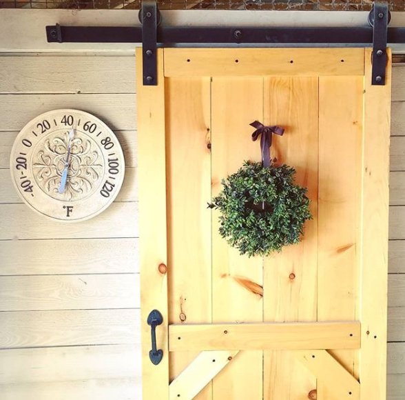 While I certainly love building stuff and tackling DIY projects Iu0027m far from being an expert. I sort of learn as I go along and often make mistakes along ... & How (and Why) to Install a Sliding Barn Door in your Chicken Coop ...