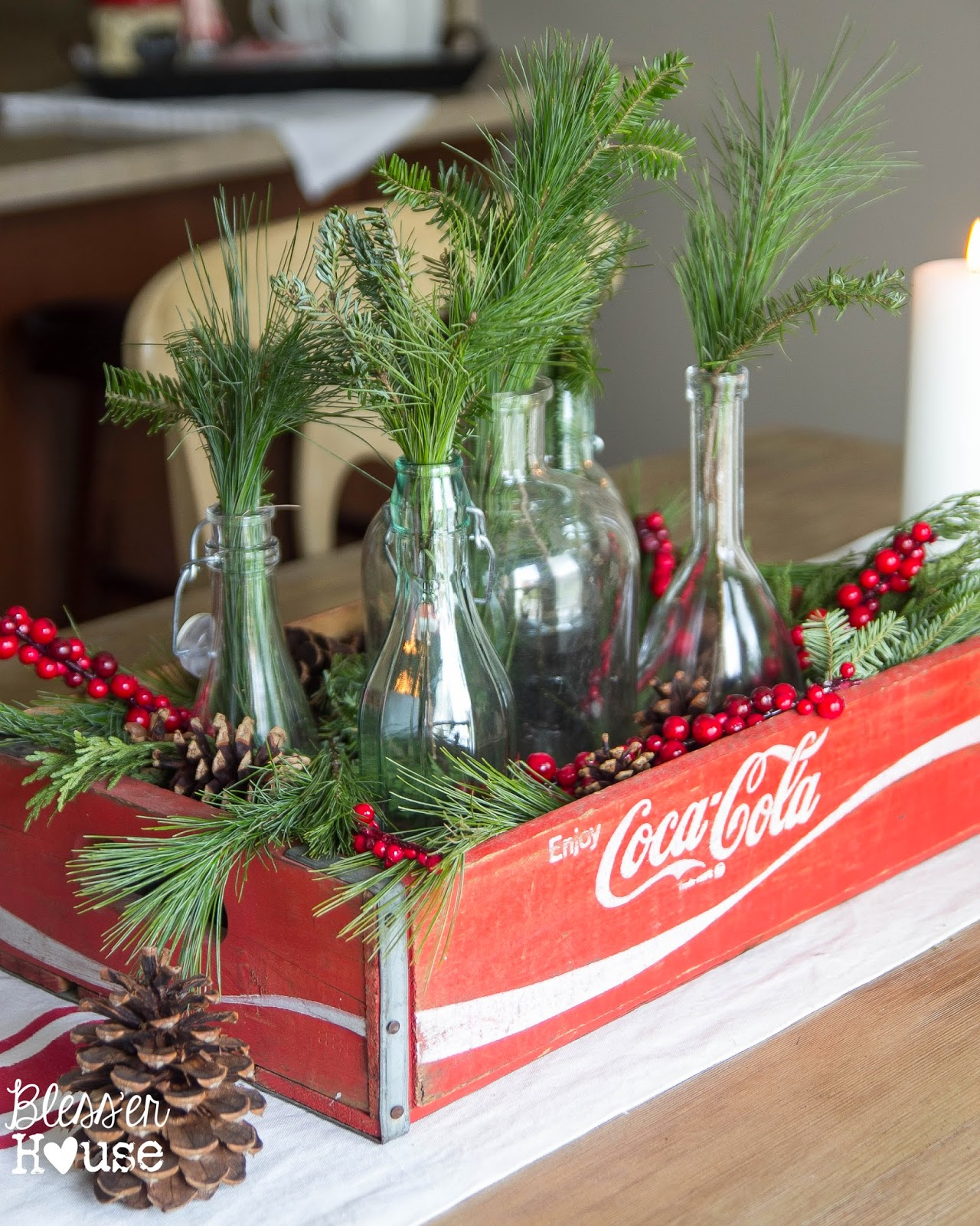 Holiday Home Tour 2014 A Cozy Eclectic Christmas Bless er House
