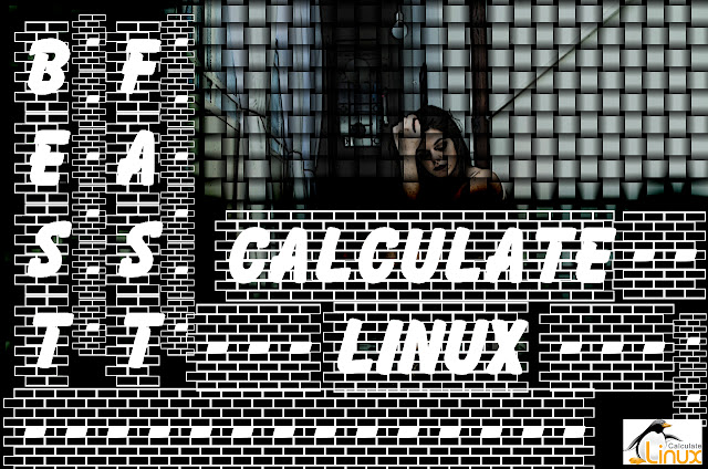 Calculate Linux (versão 3) brick wallblack