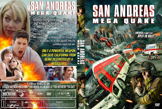 San Andreas Mega Quake DVD DVD Cover