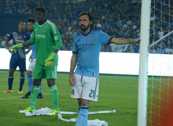 Andrea Pirlo, figura del New York City FC