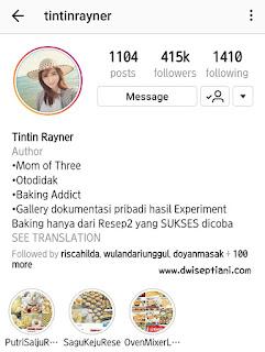 Resep Banana Muffin Tintin Rayner