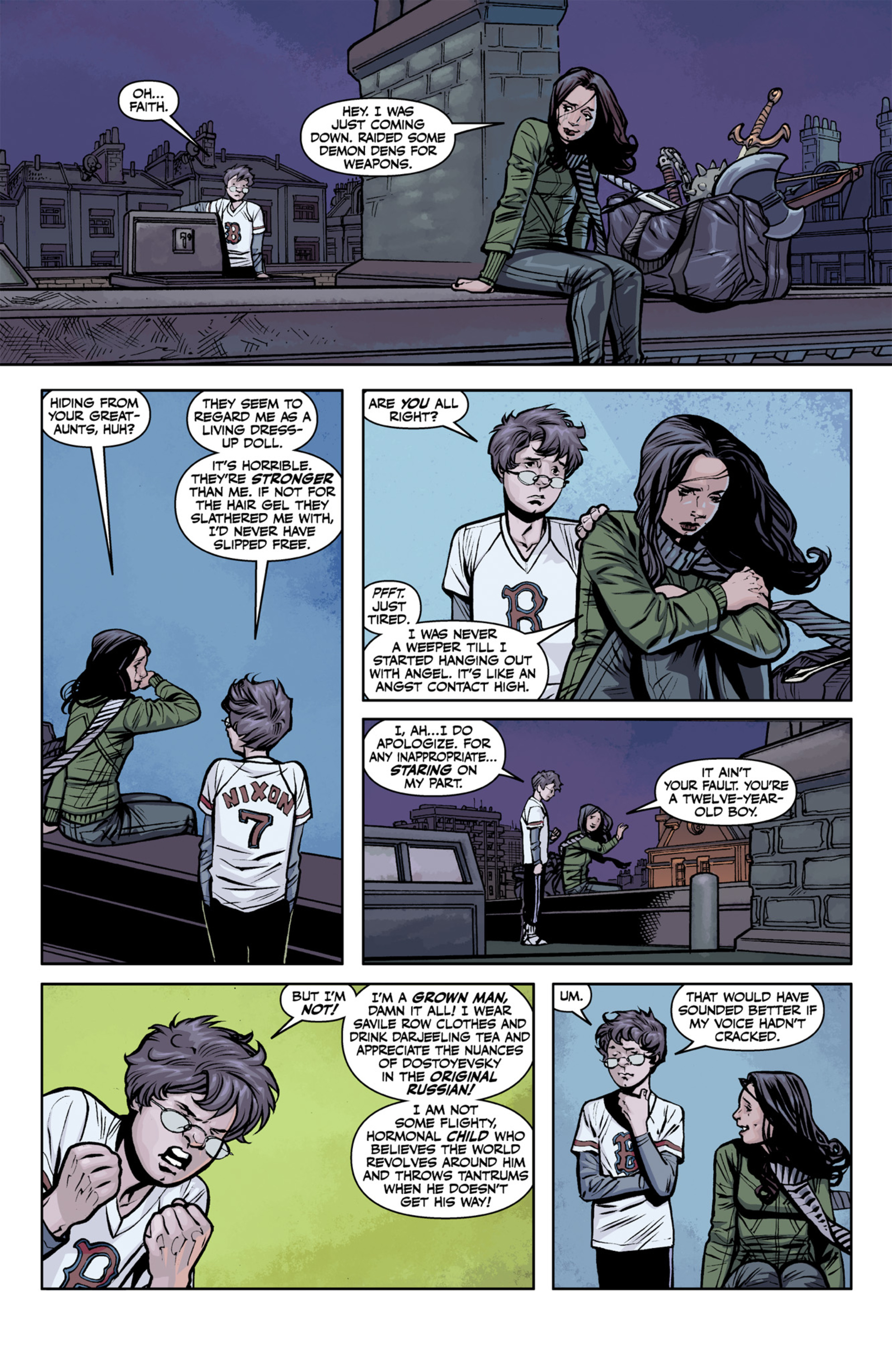 Read online Angel and Faith comic -  Issue #22 - 14