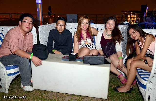 A shot of bloggers and friends at the Pow! Wow! CNY Carnival Weekend
