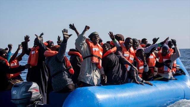 ONG Sea Watch rescata a 47 migrantes frente a las costas de Libia