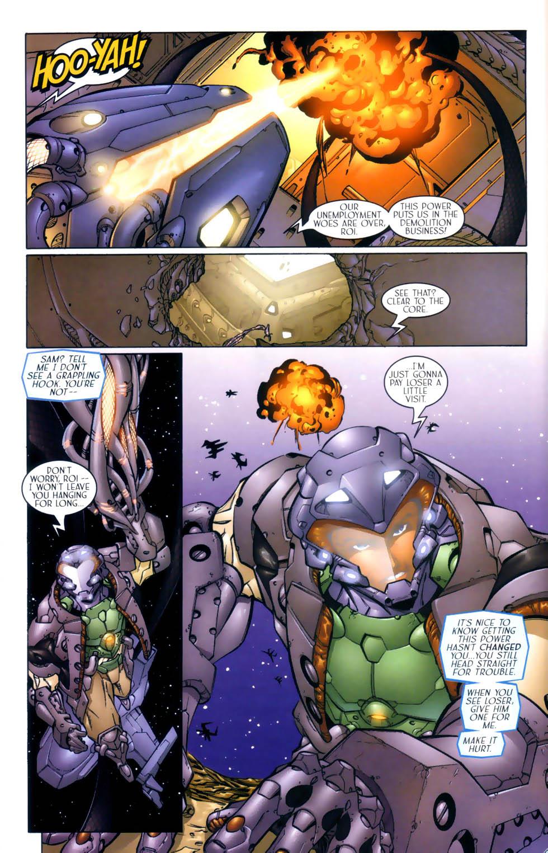 Read online Sigil (2000) comic -  Issue #3 - 19