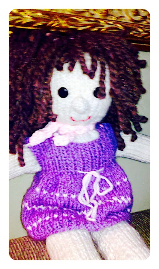 Homestead Crafts: Knitted Doll Pattern