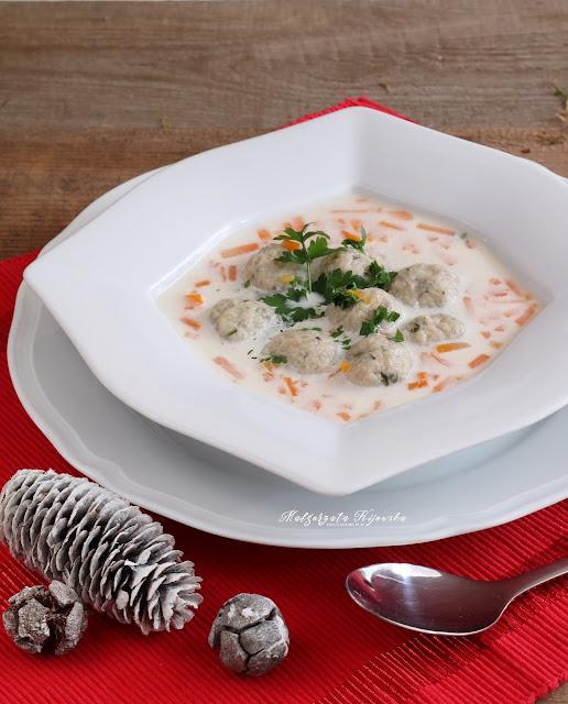 zupa z karpia, karp gotowany, wigilijna zupa rybna, daylicooking