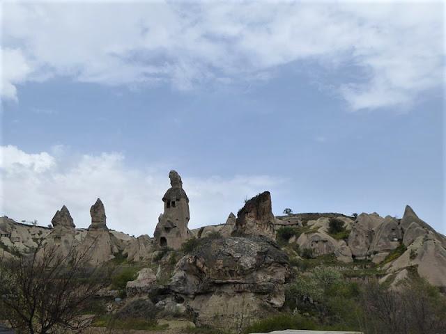 inizio trekking valle piccioni goreme