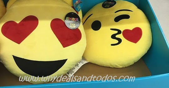 WNY Deals And To-Dos: Walmart: Emoji Pillows In Stores For