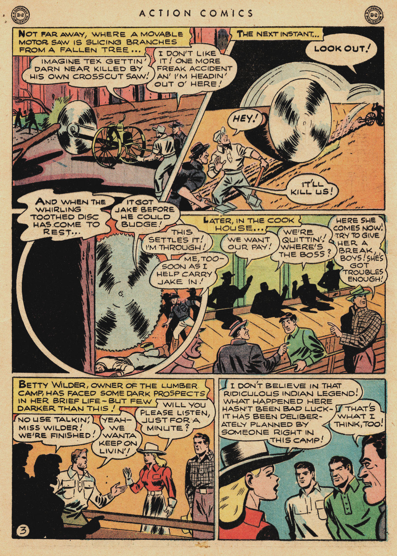 Read online Action Comics (1938) comic -  Issue #94 - 5