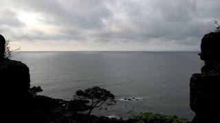 View from Capo de Rama, Goa