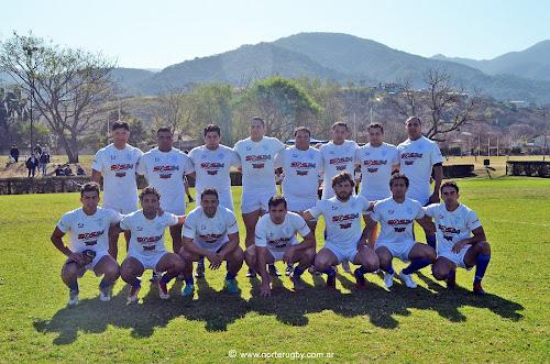 Equipo de primera división de Gimnasia y Tiro Rugby