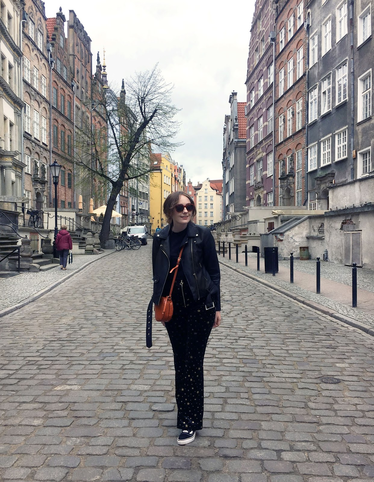 gdansk city break outfit by travel and fashion blogger allie davies