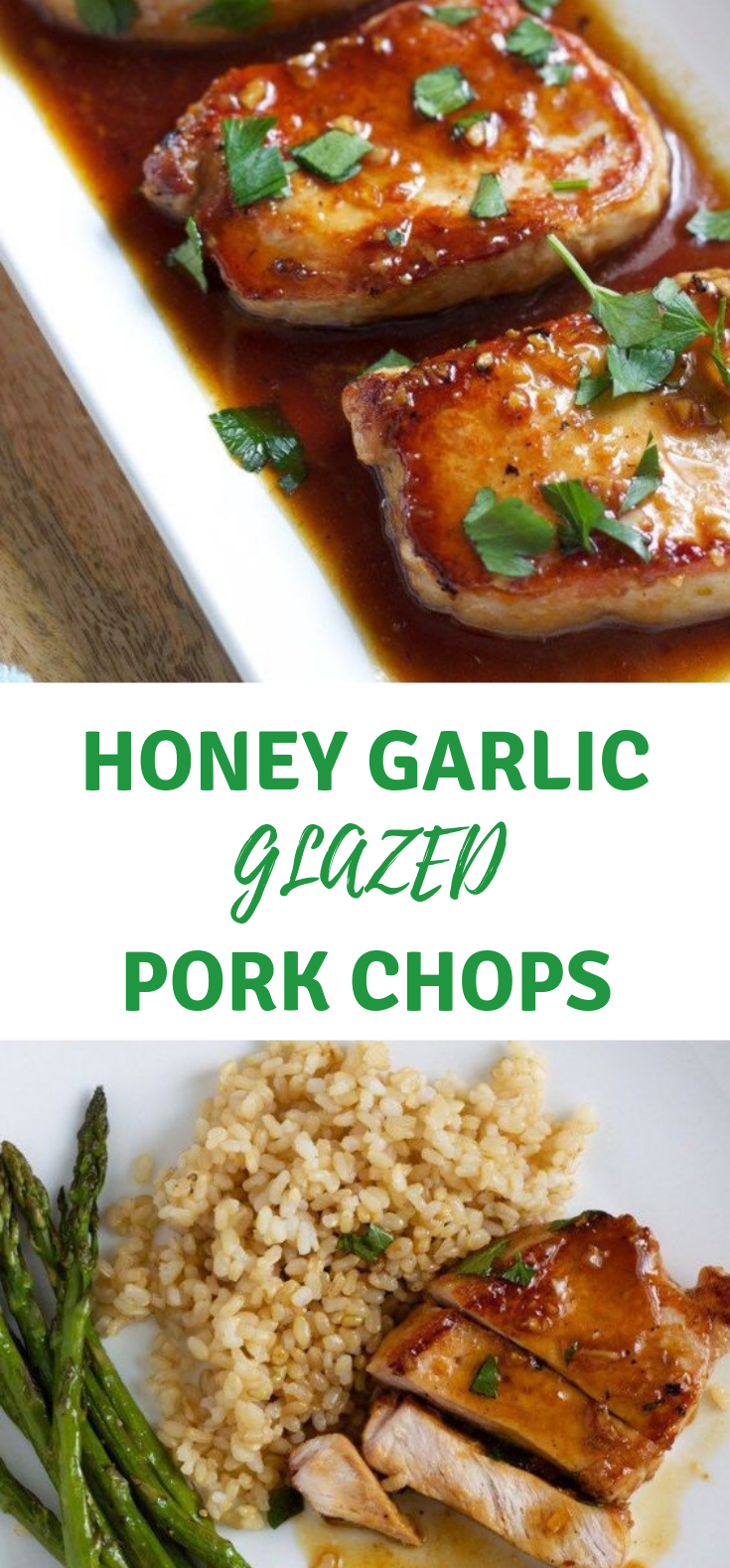 Recipe – Honey Garlic Pork Chops #Dinner #Recipe