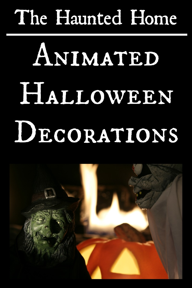 Animated halloween decorations for Animated decoration