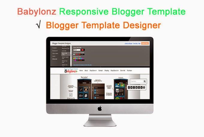 Babylonz Resposnive Blogger Template Preview 1