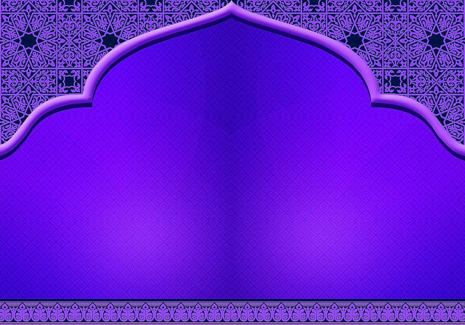 Koleksi Gambar Background Animasi Islami Terbaru 2018