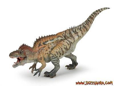 Papo Acrocanthosaurus Tiger Stripes