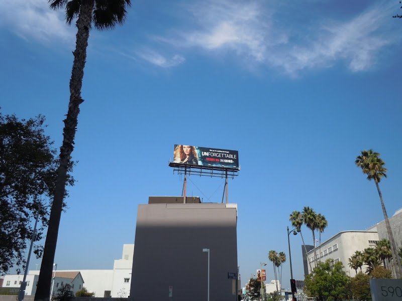 Unforgettable TV billboard