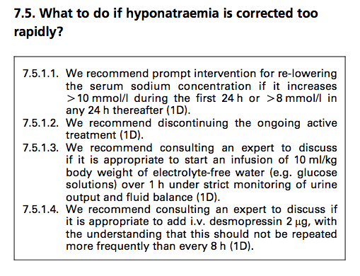 Hyponatremia Guidelines, coming to #NephJC Tuesday June 10th