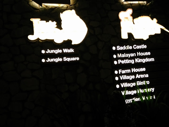 Night Safari di Bukit Gambang Safari Park
