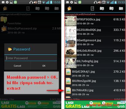 file-zip-mengunakan-password-di-android