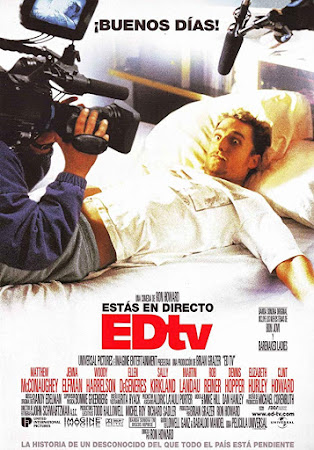 Poster Of Edtv In Dual Audio Hindi English 300MB Compressed Small Size Pc Movie Free Download Only At worldfree4u.com