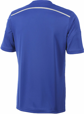 This is the new Chelsea 2014-15 Home Kit made by Adidas. 49720585e