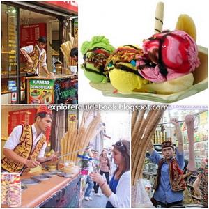 Makanan Khas Turki Istambul es krim turki dondurma