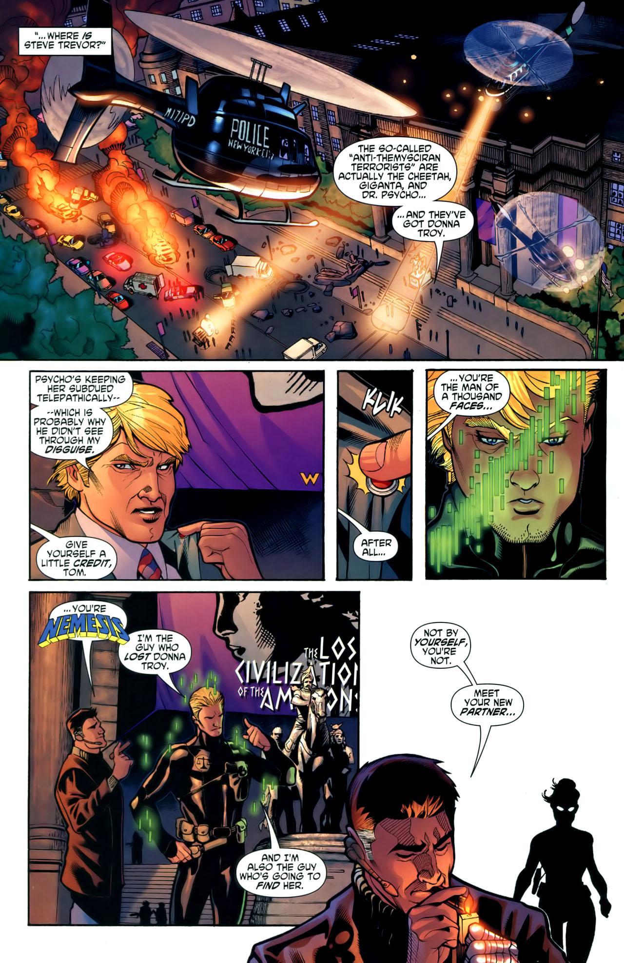 Read online Wonder Woman (2006) comic -  Issue #1 - 22