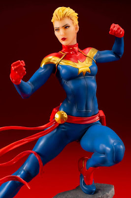 Figuras: Imágenes y detalles del ARTFX + de Captain Marvel - Kotobukiya