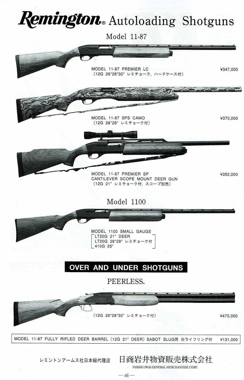 狩猟メモ: スムースボアのカンチレバー銃身