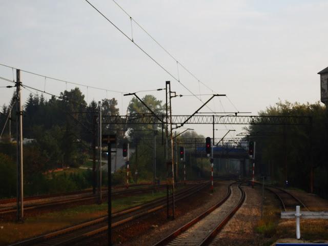 Podróże pociągiem są super - dlatego część drogi do stolicy pokonałem właśnie w ten sposób!