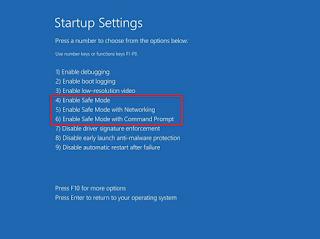 Cara Masuk Boot ke Safe Mode di Windows 10 , Begini caranya