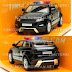 RMZ City Uni-Car Land Rover Evoque (Police) 1:32
