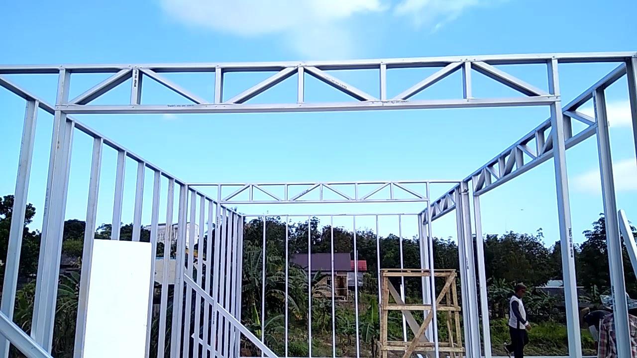pasang baja ringan di jambi distributor supplier rangka atap produk